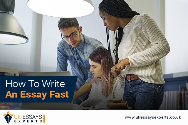 Tips on How to Write an Essay Fast