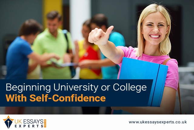 Beginning University or College with Self-Confidence